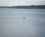 Юля купается