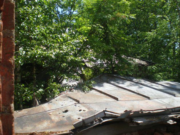 Остатки крыши
