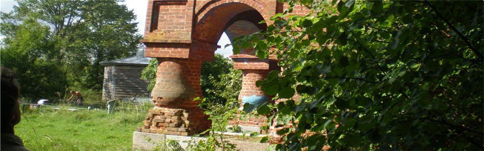 Тверская область, д. Ясенское, Разрушенная церковь - 22.08.2008